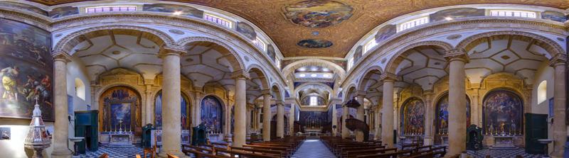 Panoramica della Cattedrale di Gallipoli