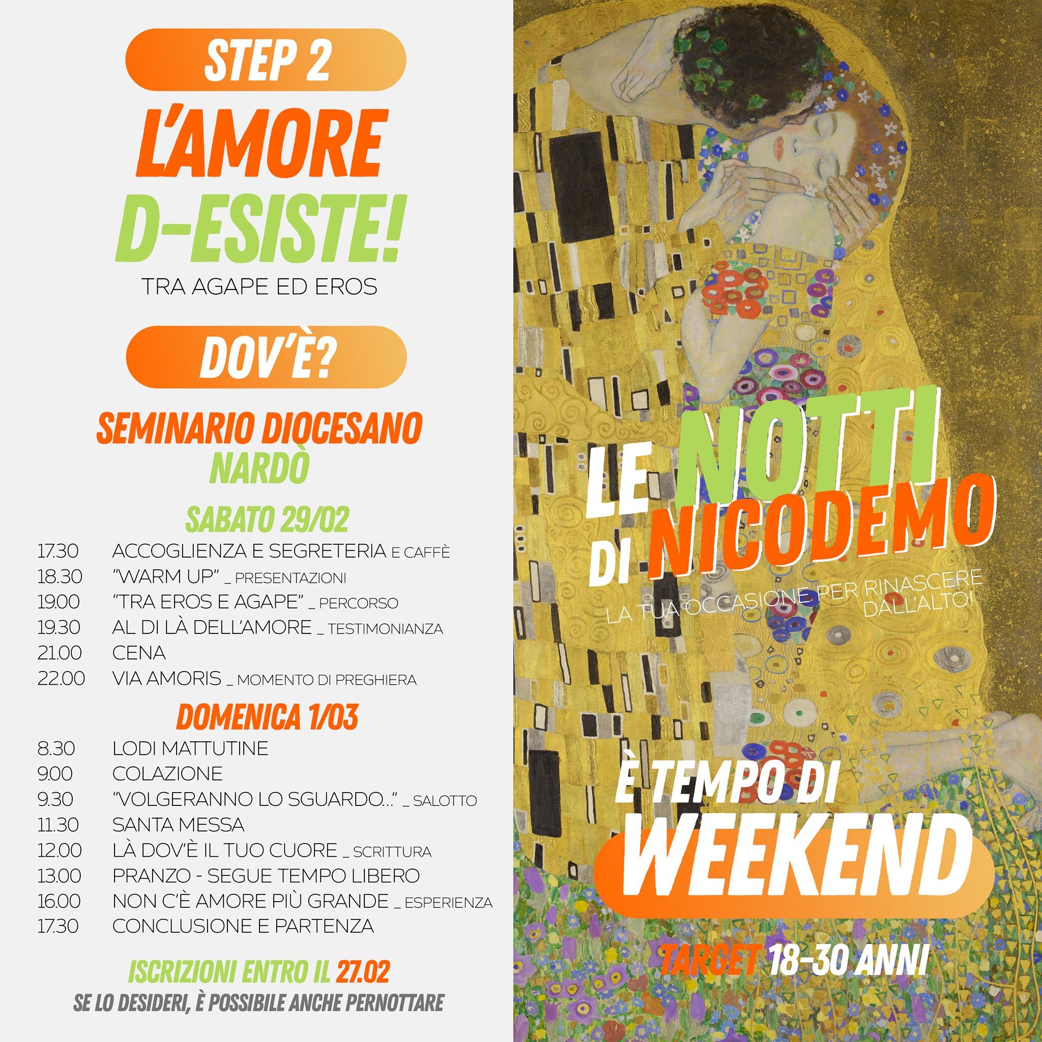 Notti di Nicodemo – weekend 29/2-1/3