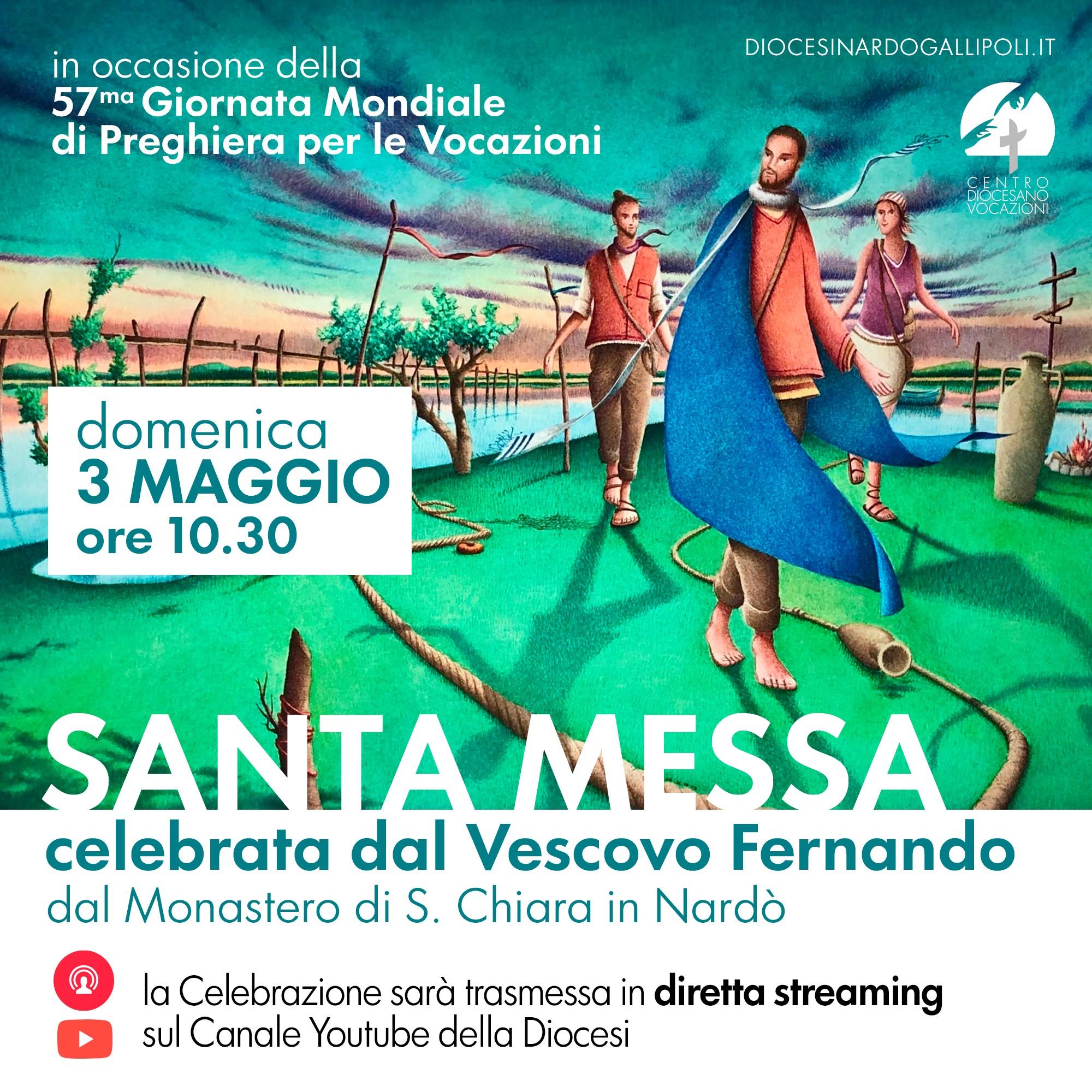 GMPV 2020 – S. Messa in diretta dal Monastero di S. Chiara