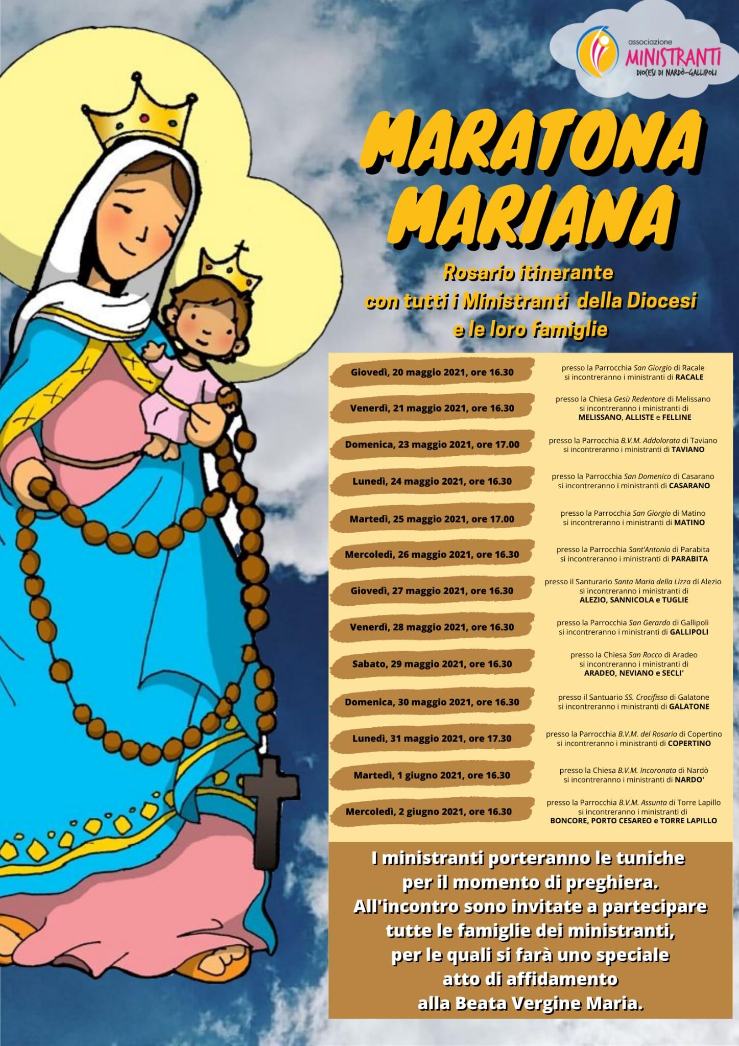 Maratona Mariana – Ministranti